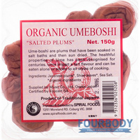 Spiral Foods Umeboshi Plums 150g