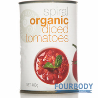 Spiral Foods Diced Tomatoes 400g