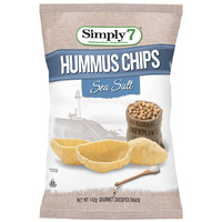 Simply 7 Hummus Sea Salt Chips 142g