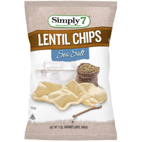 Simply 7 Lentil Sea Salt Chips 113g