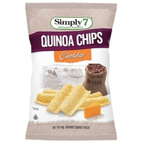 Simply 7 Quinoa Cheddar Chips 99g