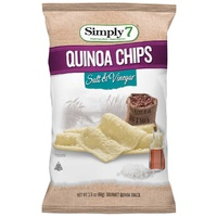 Simply 7 Quinoa Salt & Vinegar Chips 99g