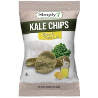 Simply 7 Kale Lemon & Olive Oil Chips 99g
