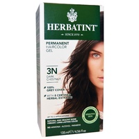 Herbatint 3N Dark Chestnut Permanent Herbal Haircolour Gel CLEARANCE