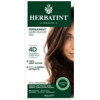 Herbatint 4D Golden Chestnut Permanent Herbal Haircolour Gel CLEARANCE