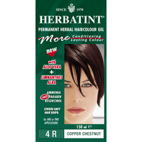Herbatint 4R Copper Chestnut Permanent Herbal Haircolour Gel CLEARANCE