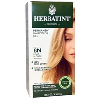 Herbatint 8N Light Blonde Permanent Herbal Haircolour Gel CLEARANCE