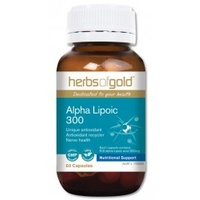 Herbs Of Gold Alpha Lipoic 300 120 caps CLEARANCE