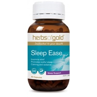 Herbs of Gold Sleep Ease 30 vcaps CLEARANCE