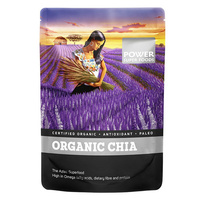 Power Super Foods Organic Chia Seeds 450g CLEARANCE