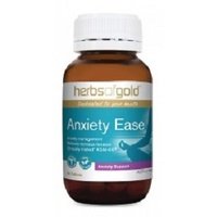 Herbs Of Gold Anxiety Ease 60 tabs CLEARANCE