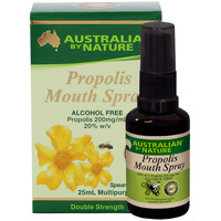 Australian By Nature Propolis Mouth Spray (Alcohol Free) 25ml CLEARANCE