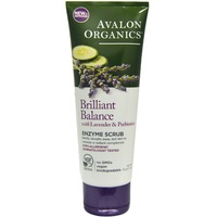 Avalon Organics Brilliant Balance Enzyme Scrub with Lavender & Prebiotics 113g CLEARANCE