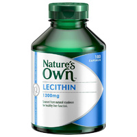 Nature's Own Lecithin 1200mg 100 caps CLEARANCE