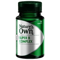 Nature's Own Super B Complex 75 tabs CLEARANCE