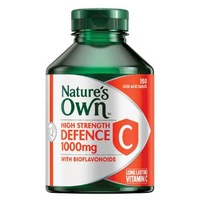 Nature's Own High Strength Defence C 1000mg with Bioflavonoids 150 tabs CLEARANCE