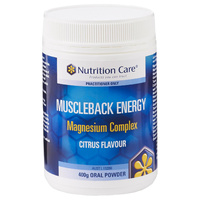 Nutrition Care Muscleback Energy