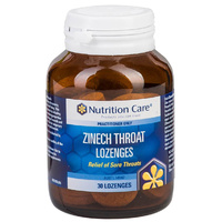 Nutrition Care Zinech Throat Lozenges