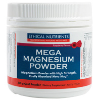 Ethical Nutrients Mega Magnesium Powder 200g CLEARANCE
