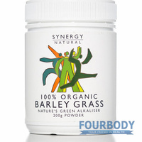 Synergy Natural Barley Grass Organic 200g