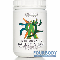 Synergy Natural Barley Grass Organic 500g
