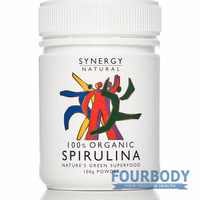 Synergy Natural Spirulina Organic 100g