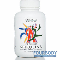 Synergy Natural Spirulina Premium 200 tabs