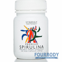 Synergy Natural Spirulina Premium 100 caps