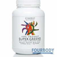 Synergy Natural Super Greens Organic 1kg