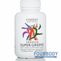 Synergy Natural Super Greens Premium 200 tabs
