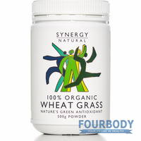 Synergy Natural Wheat Grass Organic 500g