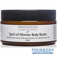 Springfields Spirit of Woman Body Butter 240g