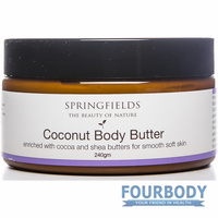 Springfields Coconut Body Butter 240g