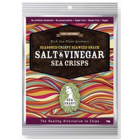 Sea Shanti Salt & Vinegar Seaweed Snack 10g