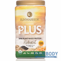 Sunwarrior Classic Plus Organic Natural 1kg
