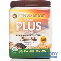 Sunwarrior Classic Plus Organic Chocolate 500g