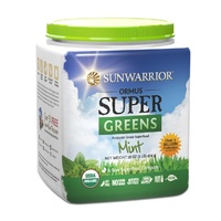 Sunwarrior Ormus Super Greens Mint 454g