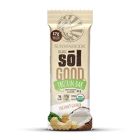 Sunwarrior Sol Good Coconut Cashew Bar 62g