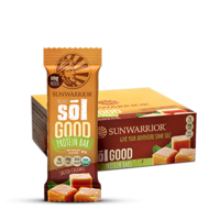 Sunwarrior Sol Good Salted Caramel Bar 66g