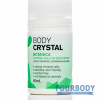 The Body Crystal Roll-On Botanica Deodorant 80ml