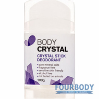 The Body Crystal Deodorant Stick 100g