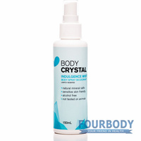 The Body Crystal Body Spray Indulgence Deodorant 150ml