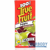 True Fruit Apple 6 bars x 20g