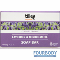 Tilley Soaps Organic Lavender & Moroccan Oil 120g