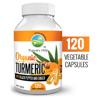 Turmeric Australia Turmeric with Pepper & Ginger 120 caps