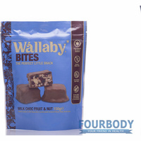 Wallaby Bites Milk Chocolate Fruit & Nut 150g
