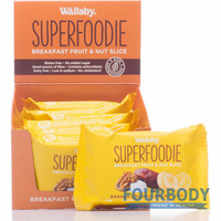 Wallaby Superfoodie Slices Banana Coconut Walnut Chia 48g