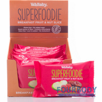 Wallaby Superfoodie Slices Apple Raspberry 48g