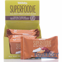 Wallaby Superfoodie Slices Cappuccino Cacao 48g