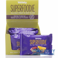 Wallaby Superfoodie Slices Blueberry Lemon 48g